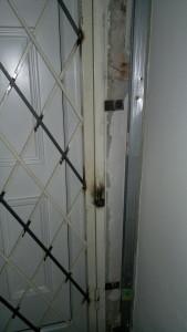 biztonsági rács, ajtórács